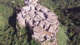 Viterbo Italy  City pictures : Calcata Viterbo Italy - Ancient Village Castle Church