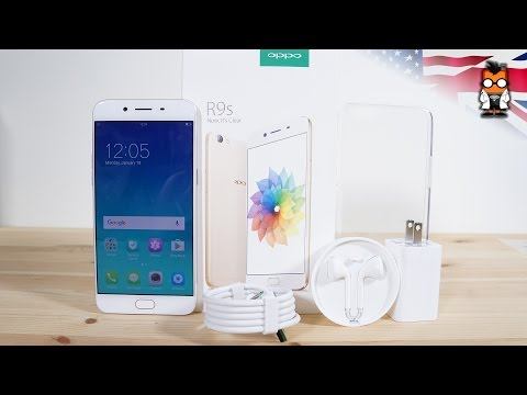 Oppo R9s Unboxing and Hands On