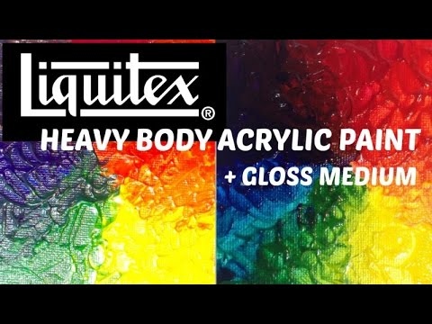 LIQUITEX VALISETTE ACRYLIQUE PRO HEAVY BODY