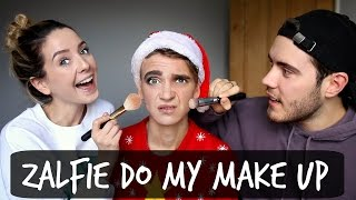Video ZALFIE DO MY MAKE UP MP3, 3GP, MP4, WEBM, AVI, FLV Oktober 2018