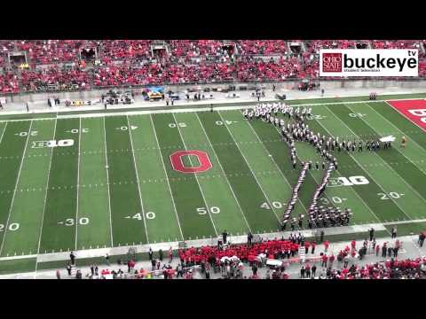 marching - TBDBITL performs a Michael Jackson tribute at halftime of the Iowa game. Be sure to follow us on Twitter for more OSU football and band coverage @buckeyetv.