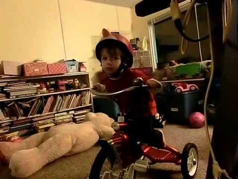 Dean trick riding