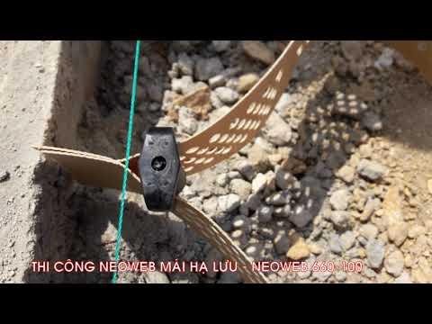 Dự án neoweb gia cố mái taluy - Hồ Chứa Nước Ngàn Trươi - Hà Tĩnh