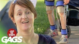 Wheelchair Kid Can Walk!
