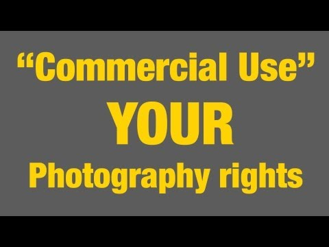 """Commercial use"" - YOUR Public Photography rights"