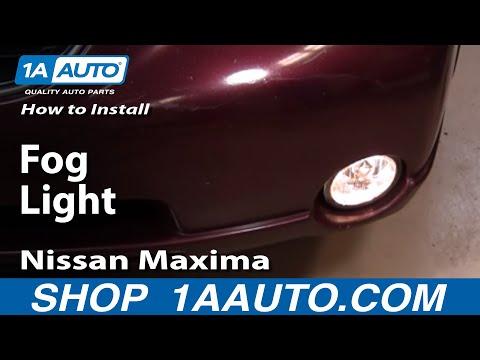 How To Install Replace Fog Light Nissan Maxima 00-01 – 1AAuto.com