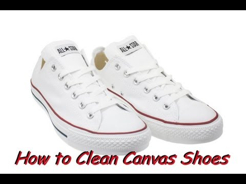 how to whiten canvas