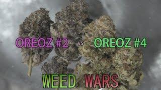 WEED WARS: Oreoz #2 vs Oreoz #4 by Urban Grower