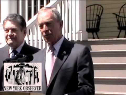 Republcans - Speaking outside Gracie Mansion with Jim Alesi on Wednesday, June 29, 2011, Mayor Bloomberg praises Dean Skelos, saying if he
