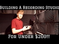 How to build a recording studio for under $200