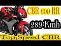 CBR 600 RR 289 kmh Top Speed