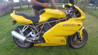 8. 1999 (S) Ducati 900SS SuperSport, New MOT, Lovely Condition