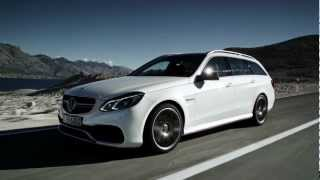 Mercedes-Benz TV: Performance, dynamics and efficiency: The new E 63 AMG
