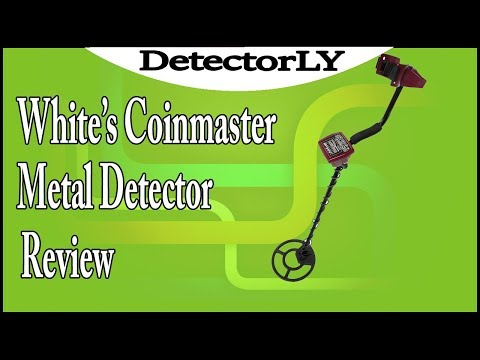 White's Coinmaster Metal Detector Review
