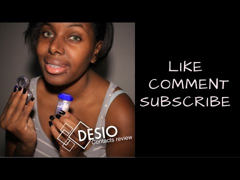 Desio Contacts Review | How To Clean Them