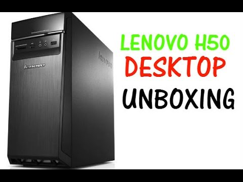 Lenovo H50 Desktop PC - Unboxing (HD)