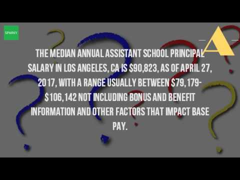 How Much Does An Assistant Principal Make In California?