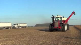 Jeffersonville (OH) United States  City pictures : 2015 Soybean Harvest near Jeffersonville Ohio with two Gleaner S68 Combines