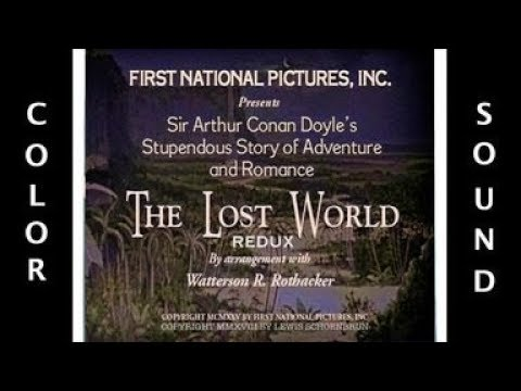 THE LOST WORLD REDUX (1925) - Colorized Trailer