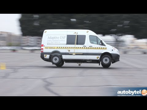 Mercedes-Benz Sprinter Tour's ESP Demo