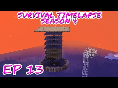 AUTOMATIC MOB FARM! | Minecraft Survival Timelapse Season 4 Episode 13 | GD Venus
