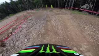 You want 4:08.642 of action? Here we go with Danny Hart's Gopro POV final run...