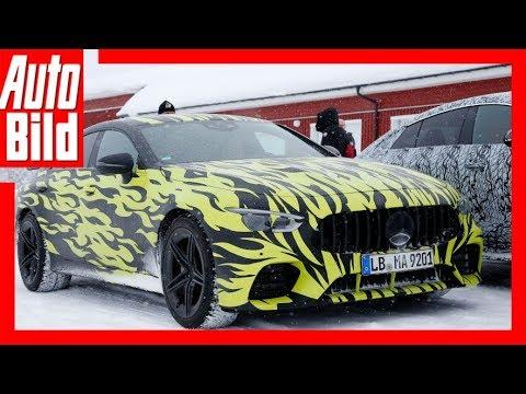 Mercedes AMG GT4 (2018) Erlkönig gesichtet!