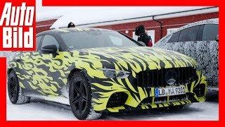 Mercedes AMG GT4 (2018) Erlkönig gesichtet! by Auto Bild