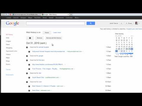 how to eliminate google history