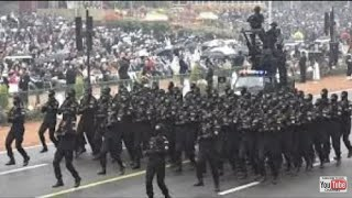 Republic Day Parade- NSG commandos in parade at Rajpath India Gate