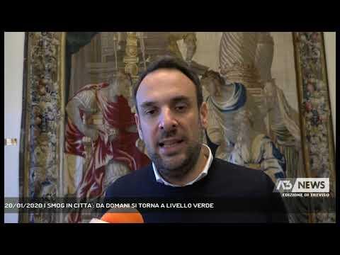 20/01/2020 | SMOG IN CITTA': DA DOMANI SI TORNA A LIVELLO VERDE