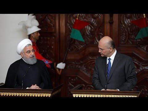 Iran: Präsident Rohani startet ersten Staatsbesuch im ...