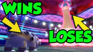 HIPPOWDON STILL A GOD In Pokemon Sword and Shield Ranked Battles! by Verlisify