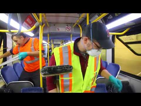 Bus cleaning blues: How OC Transpo keeps its fleet spic and span