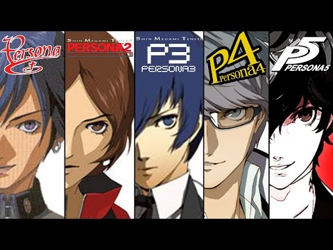 Persona Series Intros and Gameplay [Persona 1 to Persona 5]