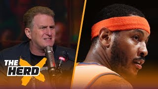 "Reports say that Carmelo Anthony does not want to return to the Knicks, Michael Rapaport gives his take.SUBSCRIBE to get all the latest content from The Herd: http://foxs.pt/SubscribeTHEHERD  ►Watch the latest content from The Herd: http://foxs.pt/LatestOnTheHerd ►Watch the latest content from Kristine Leahy: http://foxs.pt/LeahyOnHerd ►Watch our favorite content on ""Best of The Herd"": http://foxs.pt/BestOnTheHerd ►UNDISPUTED's YouTube channel: http://foxs.pt/SubscribeUNDISPUTED ►Speak for Yourself's YouTube channel: http://foxs.pt/SubscribeSPEAKFORYOURSELF See more from THE HERD: http://foxs.pt/THEHERDFoxSports Like THE HERD on Facebook: http://foxs.pt/THEHERDFacebook Follow THE HERD on Twitter: http://foxs.pt/THEHERDTwitter Follow THE HERD on Instagram: http://foxs.pt/THEHERDInstagram Follow Colin Cowherd on Twitter: http://foxs.pt/ColinCowherdTwitter Follow Kristine Leahy on Twitter: http://foxs.pt/KristineLeahyTwitter  About The Herd with Colin Cowherd:The Herd with Colin Cowherd is a three-hour sports television and radio show on FS1 and iHeartRadio. Every day, Colin will give you his authentic, unfiltered opinion on the day's biggest sports topics, and co-host Kristine Leahy will bring you the latest breaking sports news.Michael Rapaport weighs in on the Knicks  THE HERDhttps://youtu.be/GU7OlSY8aEwThe Herd with Colin Cowherdhttps://www.youtube.com/c/colincowherd"