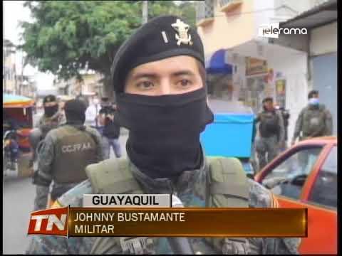 Militares realizan operativos en diferentes puntos de la ciudad