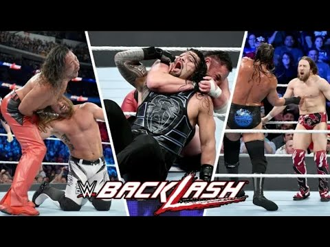 WWE BackLash 6th May 2018 Full Show Highlights _ WWE BackLash 2018 Full Show Highlights HD