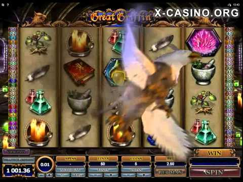 Great Griffin slot Microgaming new