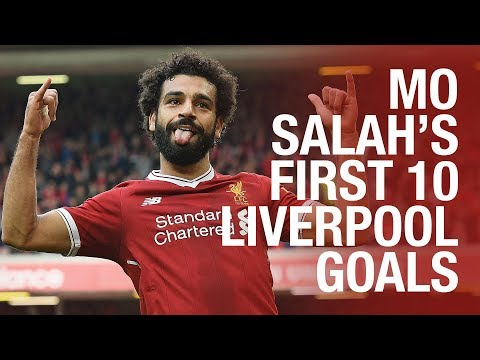 RANKED! Mo Salah's First 10 Liverpool Goals | Pick Your Favourite...