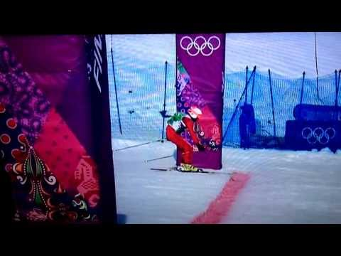 Crash Leads to Crazy Three-Way Finish at Olympic Ski Cross