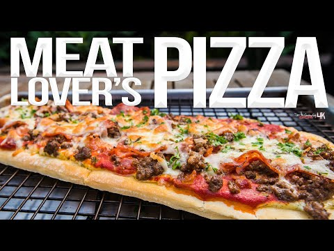 Easy Meat Lover's Pizza at Home | SAM THE COOKING GUY 4K