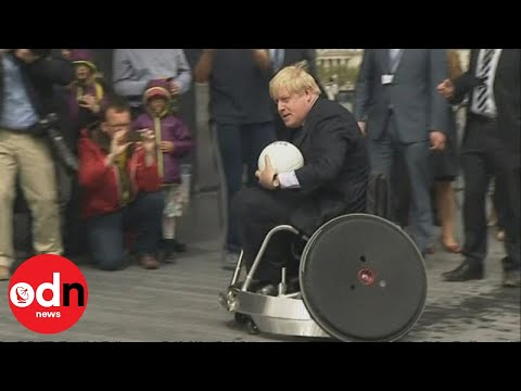 London's Mayor Plays Wheelchair Rugby