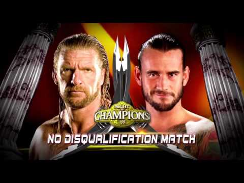 WWE CM Punk Vs Triple H Night of Champions 2011 Promo