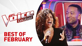 Video BEST AUDITIONS of FEB 2019 in The Voice MP3, 3GP, MP4, WEBM, AVI, FLV Maret 2019