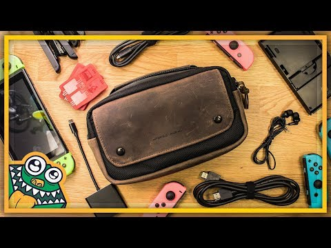 WaterField Nintendo Switch Arcade Gaming Case - Review