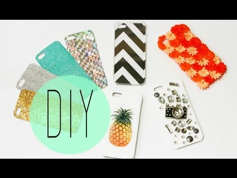 DIY Cell Phone Case – How To Make Cute Iphone 5S Designs by ANNEORSHINE