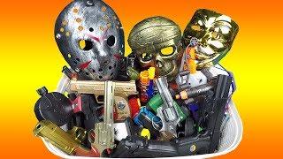 Video Box of Guns Pistols Weapons Rifles & Masks Video for Kids! MP3, 3GP, MP4, WEBM, AVI, FLV Desember 2018
