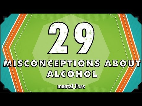 29 myths about alcohol debunked