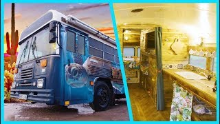 Does this BUS Conversion BEAT all VAN Conversions? by Nate Murphy